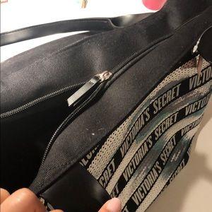 Victoria's Secret Bags - sequined striped VS tote bag